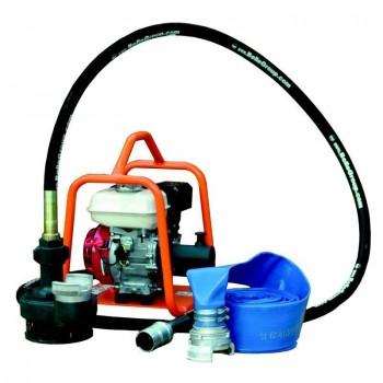Pompe à membrane (eau chargée)