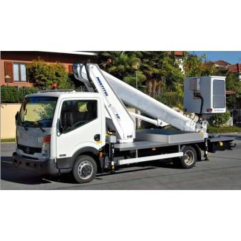 Nacelle Camion (VL) télescopique 20 m